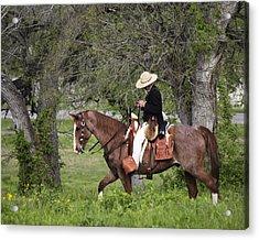 Texas Ranger Acrylic Print