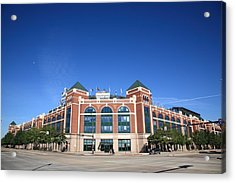 Texas Rangers Ballpark In Arlington Acrylic Print