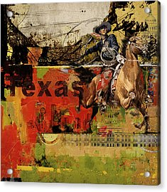 Texas Rodeo Acrylic Print