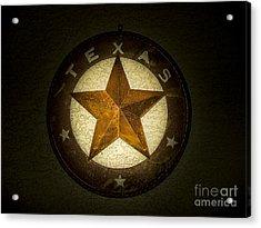 Texas Star Acrylic Print