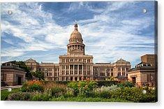 Texas State Capitol II Acrylic Print
