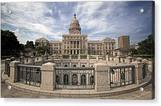 Texas State Capitol Iv Acrylic Print