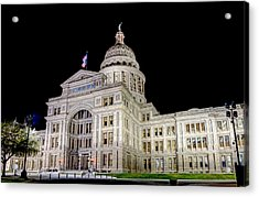 Texas State Capitol Acrylic Print by Tim Stanley