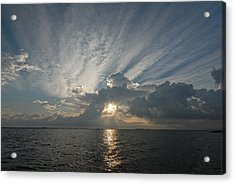 Acrylic Print featuring the photograph Texas Sunrise by Susan D Moody