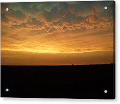 Acrylic Print featuring the photograph Texas Sunset by Ed Sweeney