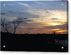Texas Sunset Acrylic Print
