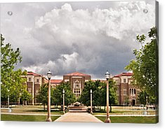 Acrylic Print featuring the photograph School Of Education by Mae Wertz