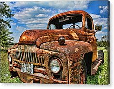 Acrylic Print featuring the photograph Texas Truck by Daniel Sheldon
