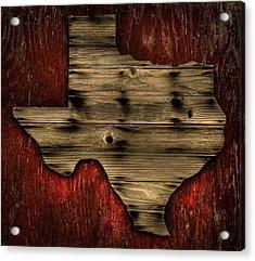 Acrylic Print featuring the photograph Texas Wood by Darryl Dalton