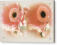 Textured Floral Artwork Acrylic Print