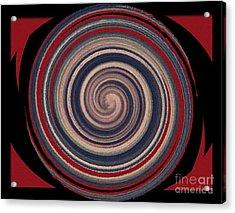 Acrylic Print featuring the digital art Textured Matt Finish by Catherine Lott