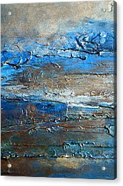 Textured Original Abstract Dune Acrylic Print