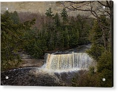 Textured Tahquamenon River Michigan Acrylic Print