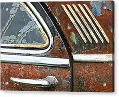 Textures Acrylic Print by Jean Noren
