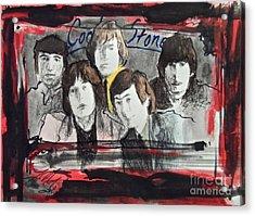 Tha Rollin' Stones Acrylic Print by Wade Hampton
