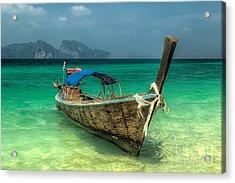 Thai Boat  Acrylic Print