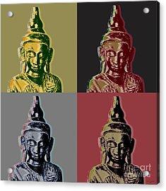 Thai Buddha Acrylic Print