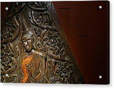 Thai Wood Panel Acrylic Print