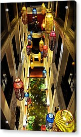 Thai Hotel Acrylic Print by Money Sharma