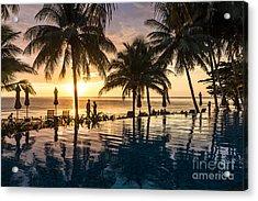 Thai Sunset Acrylic Print