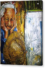 Thai Woman Acrylic Print by Doris Cohen