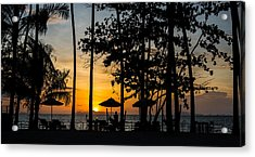 Acrylic Print featuring the photograph Thailand Sunset by Mike Lee