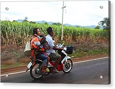 Thailand Transportation - 01131 Acrylic Print by DC Photographer