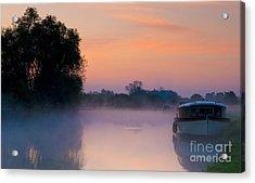 River Thames At Dawn  Acrylic Print