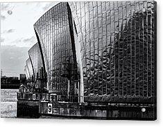 Thames Barrier Acrylic Print