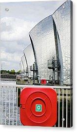 Thames Flood Barrier Acrylic Print