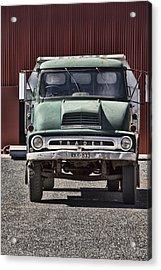 Thames Trader Vintage Truck Acrylic Print by Douglas Barnard