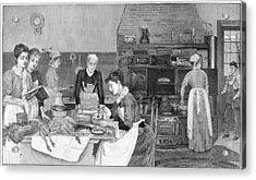 Thanksgiving, 1890 Acrylic Print by Granger