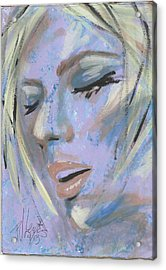 That Moment Acrylic Print by P J Lewis