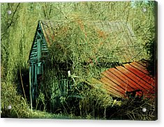 That Old Barn Acrylic Print