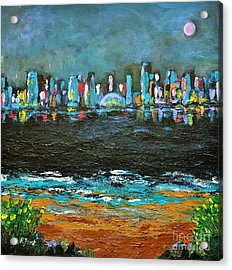 That Other Place Acrylic Print by Reb Frost