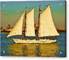 That Ship Acrylic Print by Alice Gipson