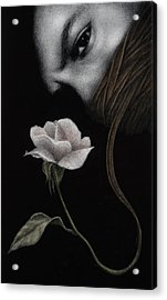 Acrylic Print featuring the painting That Which Will Not Be Silenced by Pat Erickson