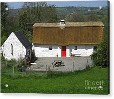 Thatched Cottage Acrylic Print