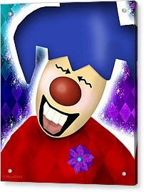 That's Funny Acrylic Print by Melisa Meyers