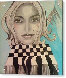 That's Not A Chessboard Acrylic Print