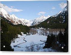 Thawing Mountain Stream Acrylic Print
