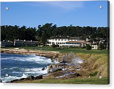 The 18th At Pebble Beach Acrylic Print