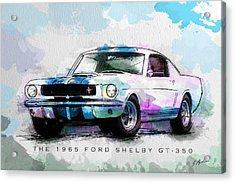 The 1965 Ford Shelby Gt 350  Acrylic Print