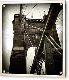 The 1st brooklyn Bridge Acrylic Print