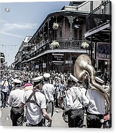 The 2nd Line Passing By During The Acrylic Print