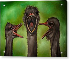 The 3 Tenors Edit 2 Acrylic Print