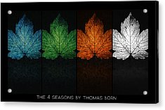 The 4 Seasons By Thomas Born Acrylic Print