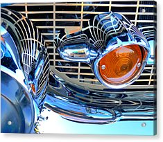 The 57 Chevy Grill Acrylic Print