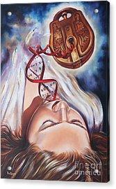 The 7 Spirits - The Spirit Of Wisdom Acrylic Print by Ilse Kleyn