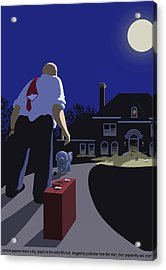Acrylic Print featuring the digital art The Last Straw by Tom Dickson